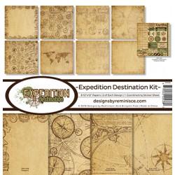 "Reminisce  - Kit Carte 12x12"" - Expedition Destination"