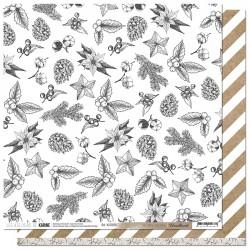 "Les Ateliers de Karine - Carta 12x12"" - Motifs festifs"