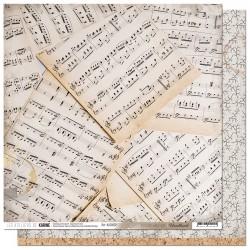 """Les Ateliers de Karine - Carta 12x12"""" - Douce mélodie"""