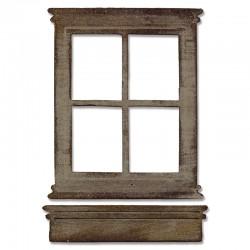 Fustella Sizzix Window & Window Box