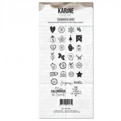 Les Ateliers de Karine - Timbri Clear - Calendrier de l'avent