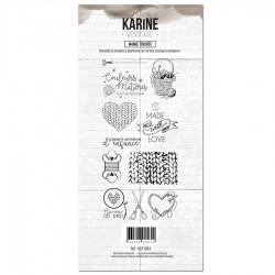 Les Ateliers de Karine - Timbri Clear - Mamie Tricote