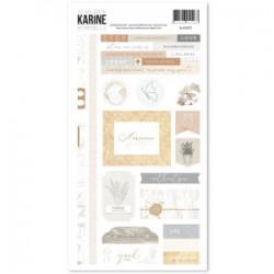 Les Ateliers de Karine - Stickers- Intemporelle 15x30cm