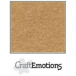 Cartoncino CraftEmotions - Browny