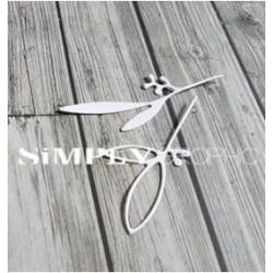 Simply Graphic - Fustella - Duo De Feuillages Positif Négatif