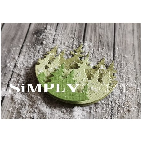 Simply Graphic - Fustella - Superposables Sapins