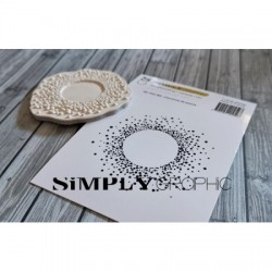 Simply Graphic - Timbri Cling - Couronne De Points