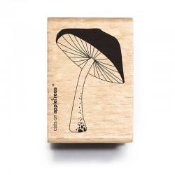 Cats on appletrees - Timbro Legno - Mushroom (big) - 2664