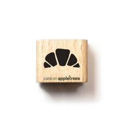 Cats on appletrees - Timbro Legno - Croissant - 2657