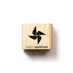 Cats on appletrees - Timbro Legno - Pinwheels - 2675