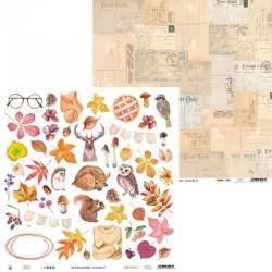 """PIATEK13 - Carte 12x12"""" - The Four Seasons - Autumn 07"""