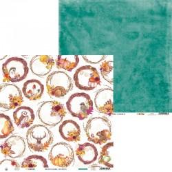 """PIATEK13 - Carte 12x12"""" - The Four Seasons - Autumn 06"""