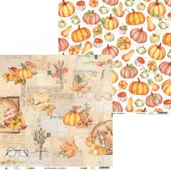 """PIATEK13 - Carte 12x12"""" - The Four Seasons - Autumn 02"""