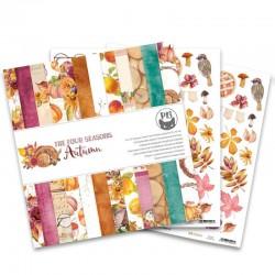 "PIATEK13 -  Paper Pad - The Four Seasons - Autumn 12x12"""