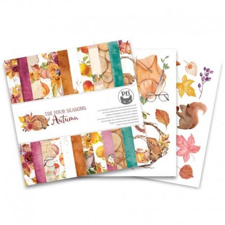 "PIATEK13 -  Paper Pad - The Four Seasons - Summer 6x6"""