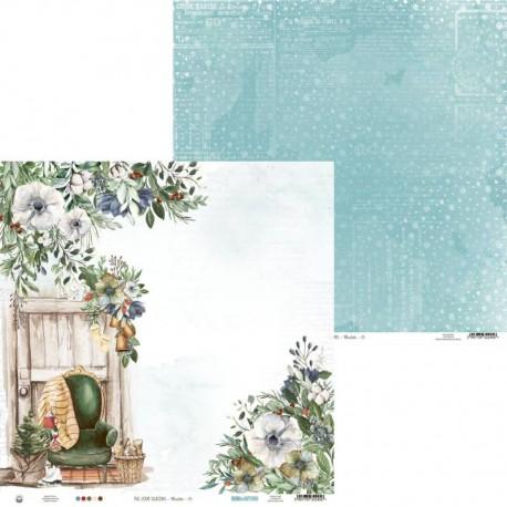 "PIATEK13 - Carte 12x12"" - The Four Seasons - Winter 03"