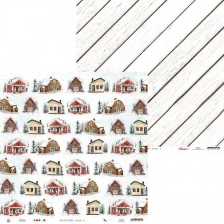 "PIATEK13 - Carte 12x12"" - The Four Seasons - Winter 01"