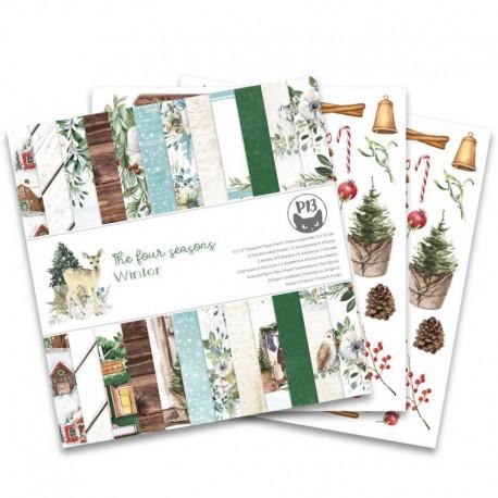 "PIATEK13 -  Paper Pad - The Four Seasons - Winter 12x12"""