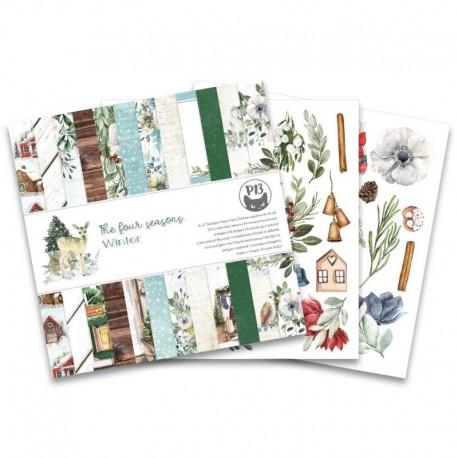"PIATEK13 -  Paper Pad - The Four Seasons - Winter 6x6"""