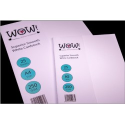 WOW - Carta A4 - per embossing
