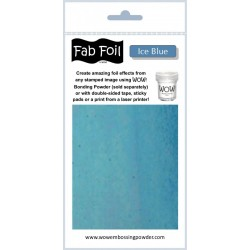 Wow! Fab Foil - Iced Blue