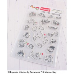 Impronte D'Autore - Timbro Clear - Bellezze d'Italia