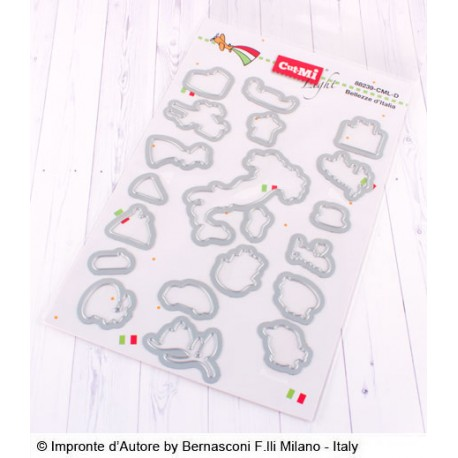 Impronte d'Autore - Fustella - Bellezze d'Italia