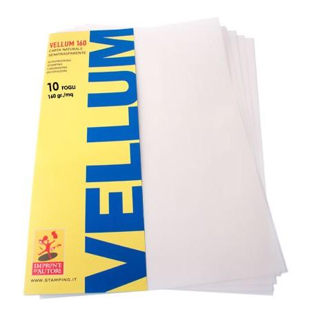 Impronte d'Autore - Kit Vellum A4 -160gr