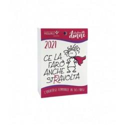 Calendario delle Donne 2021- A6 - SOLO INSERTO CON FORO