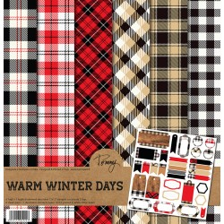 "Tommy Art - Kit Carte 12x12"" - Warm Winter Days"