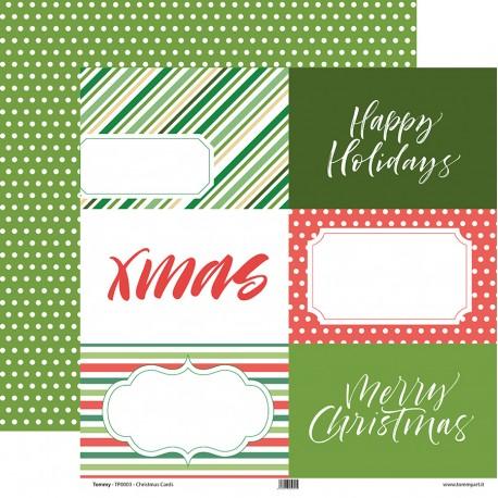 "Tommy Art - Carte 12x12"" - Christmas Cards"