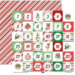 "Tommy Art - Carte 12x12"" - Christmas Countdown"