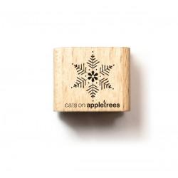 Cats on appletrees - Timbro Legno - Snowflake 2 - 27347