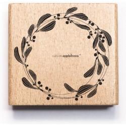 Cats on appletrees - Timbro Legno - Mistletoe Ring - 27382