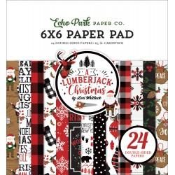 "Echo Park - Pad 6x6"" - A Lumberjack Christmas"