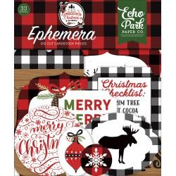 Echo Park - Ephemera - Lumberjack Christmas
