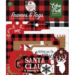 Echo Park - Frames & Tags - Lumberjack Christmas