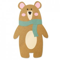 Sizzix - Fustella Bigz - Scandi Bear by Laura Kate