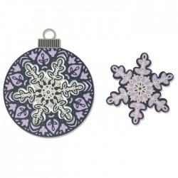 Sizzix - Fustella Thinlits - Layered Snowflake