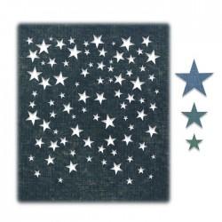 Sizzix - Fustella Thinlits - Falling Stars by Tim Holtz