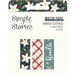 Simple Stories - Washi Tape -Winter Cottage