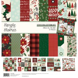 Simple Stories - Kit Jingle All the way 12x12""
