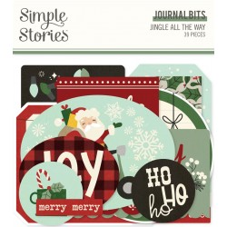 Simple Stories - Journal Bits - Jingle All the Way