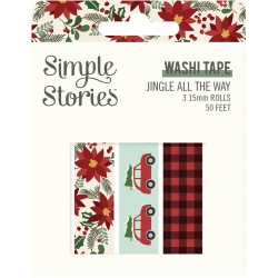 Simple Stories - Washi Tape - Jingle All The Way
