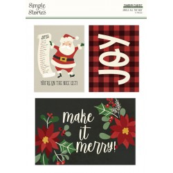 Simple Stories - Snap Cards - Jingle All the Way