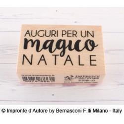 Impronte d'Autore - Timbri Legno - LA MAGIA