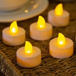 6 candeline Tea Light - led bianco caldo