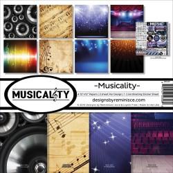 "Reminisce  - Kit Collezione Musicality - 12x12"""
