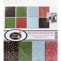 """Reminisce  - Kit Collezione Gnome Christmas - 12x12"""""""