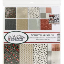 """Reminisce  - Kit Collezione Christmas Spruce - 12x12"""""""